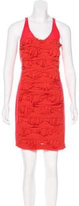 Cynthia Steffe Silk Frayed Dress