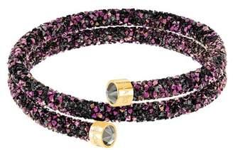 Swarovski Crystal Dust Studded Crystal Wrap Around Bracelet