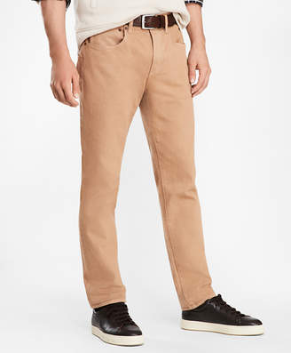 Brooks Brothers Five-Pocket Garment-Dyed Jeans