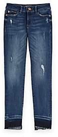 Chloé DL 1961 Kids' Distressed Jeans-Blue