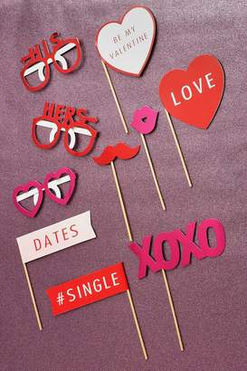 boohoo Valentine Photo Booth Props