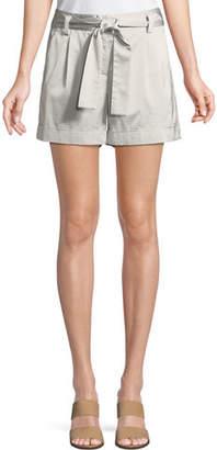Lafayette 148 New York Greenpoint Urbane Satin Cloth City Shorts