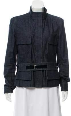 Saint Laurent Structured Denim Jacket