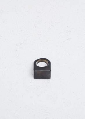Kathleen Whitaker Petrified Wooden Ring