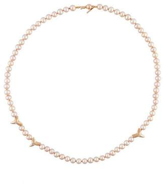 Nektar de Stagni shark tooth pearl necklace
