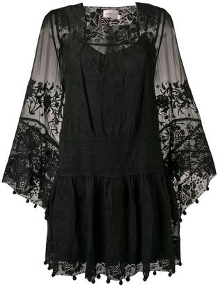 Zimmermann lace-embroidered shift dress