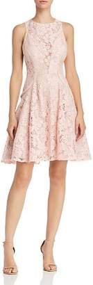 DAY Birger et Mikkelsen Avery G Lace Illusion-Front Fit-and-Flare Dress