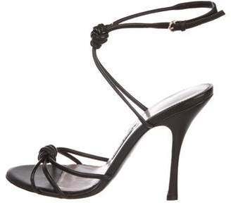 38e65102322 Tom Ford High Heel Leather Sandals