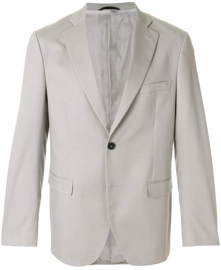 two button suit jacket