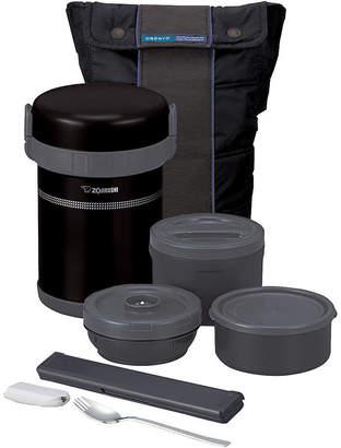 Zojirushi Classic Bento Stainless Lunch Jar Set