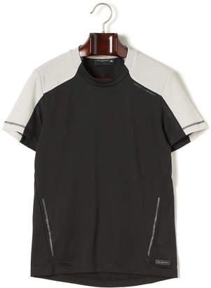 adidas (アディダス) - PORSCHE DESIGN SPORT BY ADIDAS 切替 クルーネック 半袖Tシャツ ブラック m