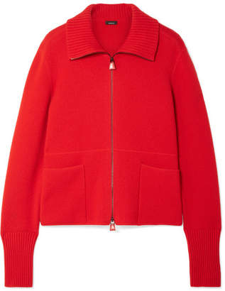 Akris Cashmere Cardigan - Red