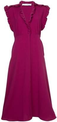 IRO ruffled trim dress