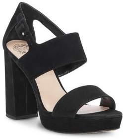 Vince Camuto Jayvid Suede Platform Sandals