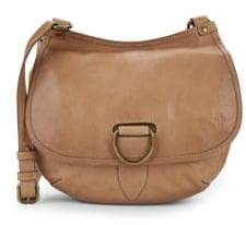 Frye Lucy Leather Crossbody Saddle Bag