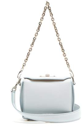 Alexander McQueen Box 19 grained-leather cross-body bag