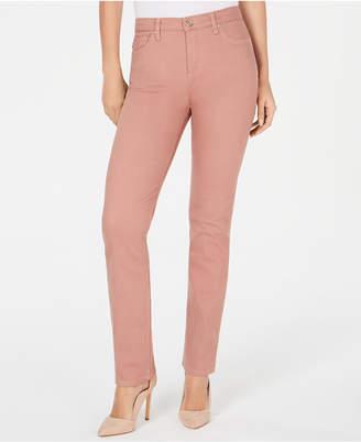 Lee Platinum Gwen Straight-Leg Jeans