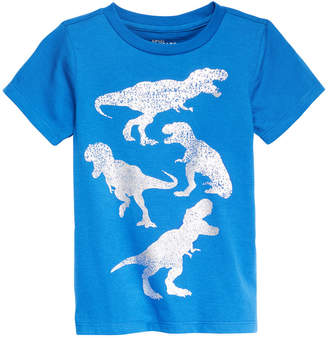 Epic Threads Little Boys Camo Dino-Print T-Shirt, Created for Macy's