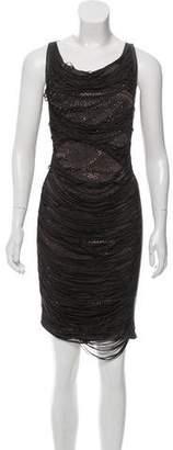 Jitrois Fringe Embellished Dress