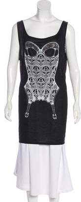 Thomas Wylde Embellished Sleeveless Top w/ Tags