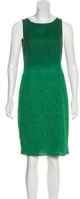 Akris Sleeveless Knee-Length Dress