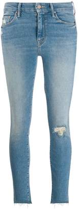 Mother Looker skinny ankle length jeans