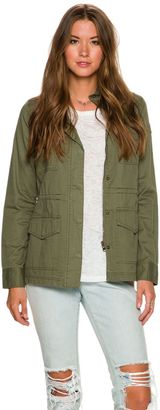 Element Rachelle Military Jacket $79.95 thestylecure.com