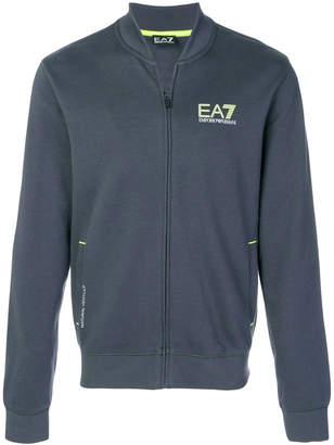Emporio Armani Ea7 zipped bomber jacket