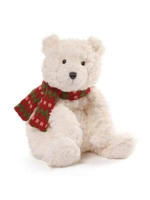 Gund Teddy Bear with Woolen Scarf Soft Toy