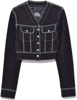 Marc Jacobs Cropped Jacket in Black