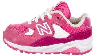 New Balance Girls' Knit Round-Toe Sneakers