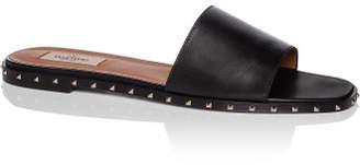 Valentino Rockstud Flat Studded Sole