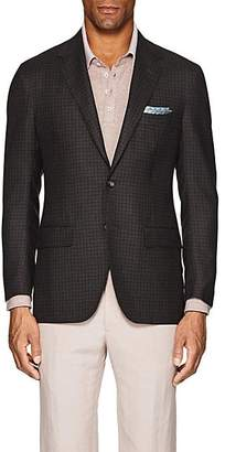 Sartorio Men's PG Checked Wool-Cashmere Two-Button Sportcoat - Gray