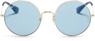 'Ja-Jo' metal round sunglasses