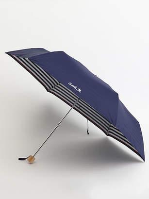 Arnold Palmer (アーノルド パーマー) - アーノルドパーマータイムレス 【UVカット加工】ボーダー折りたたみ傘