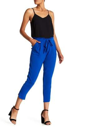 Ramy Brook Allyn Ruffle Waist Cropped Pants