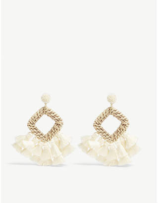 BaubleBar Sahara drop earrings