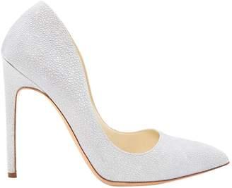 Rupert Sanderson Grey Leather Heels