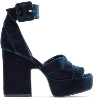 Pierre Hardy Blue Maxi Candy Sandals