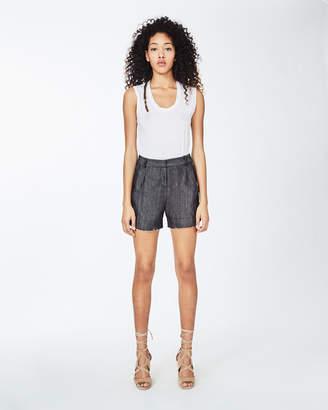 Nicole Miller Dark Denim Shorts