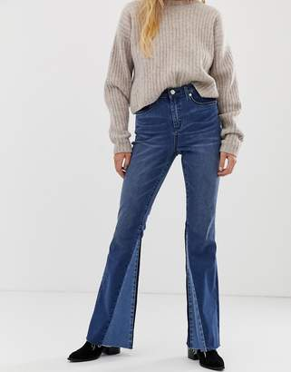 Blank NYC panelled flare jean