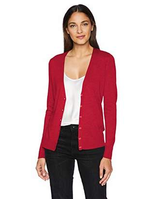 Amazon Essentials Women's Vee Cardigan Sweater