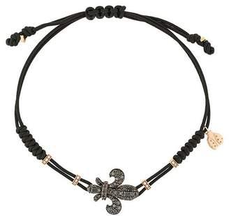 Pippo Perez 18kt rose gold and diamond Fleur-de-Lis bracelet