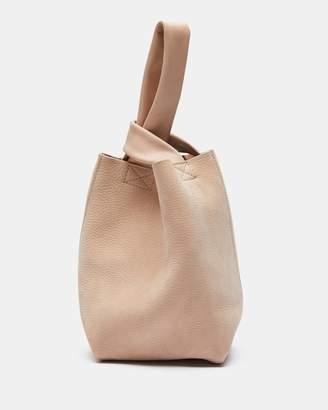 Theory Small Urban Bucket Bag in Nubuck Leather