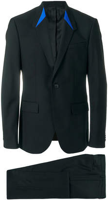 Givenchy graphic collar suit
