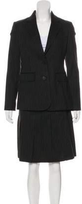 Burberry Wool-Blend Skirt Suit