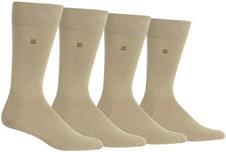 Chaps Men's 4-pk. Solid Dress Socks