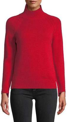 Helmut Lang Cashmere Raglan Turtleneck Sweater