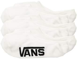 Vans Kids Classic Super No Show 3-Pack Boys Shoes