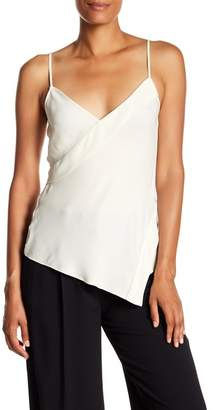 Theory Crossover Silk Tank